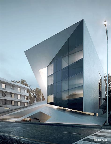 Futuristic Residential Building  www