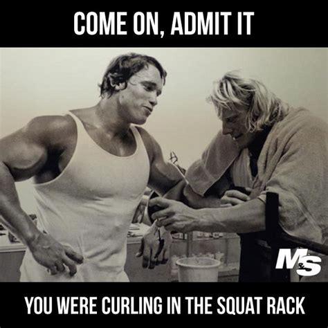 Squat Meme - were you curling in the squat rack fitnessgoals motivation pinterest squat fitness