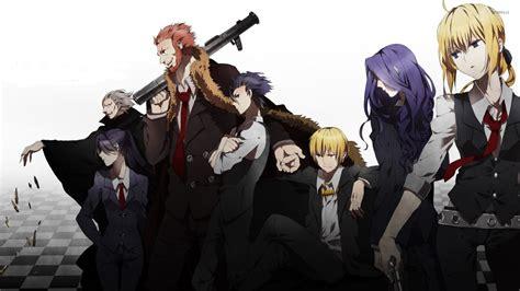 anime fate zero add anime fate zero servants hd wallpaper and background image