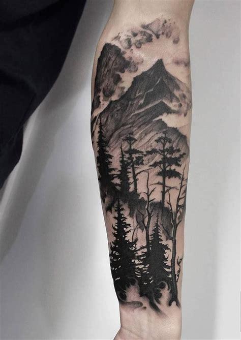 Mountain Tree Tattoo Creativefan