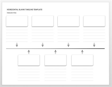 Timeline Web Template Free free printable timeline templates vastuuonminun