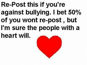 Stop Bullying Speak Up Quotes. QuotesGram