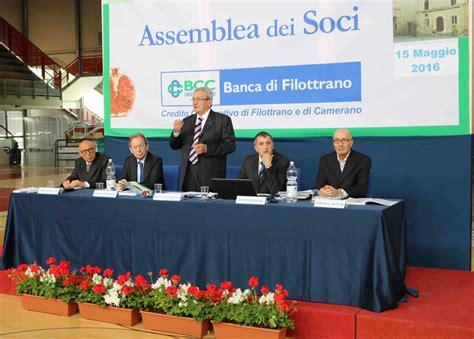 Banca Filottrano by Domenica Al Pala Baldinelli L Assemblea Ordinaria Della