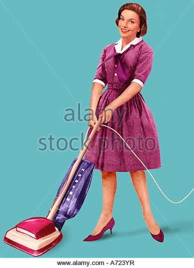 Housewife 1950s Stock Photos & Housewife 1950s Stock