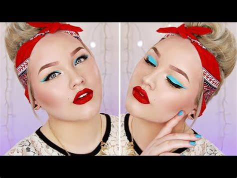 colorful pin  makeup tutorial youtube