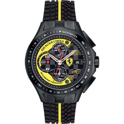 The oldest surviving and most successful formula one team, having competed in every world championship since 1950 formula one season. Men's Scuderia Ferrari F1 race day Chronograph watch 44mm 830078 - MJ MONACO