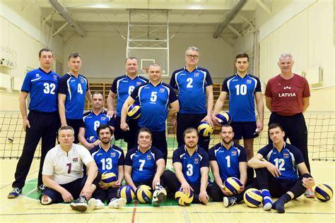 Latvia Team Men - 2017 Paravolley Europe