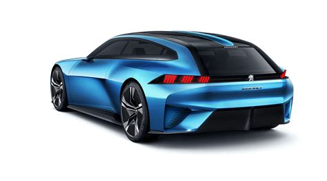 peugeot concept car peugeot instinct concept revealed photos 1 of 27