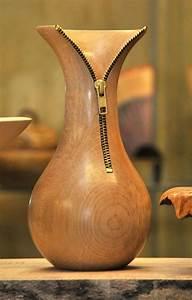 Wooden, Vases, 1