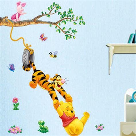 winnie the pooh decals kids bedroom baby nursery art
