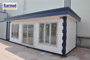 bureau de chantier structure préfabriquée maison préfabriquée conteneur