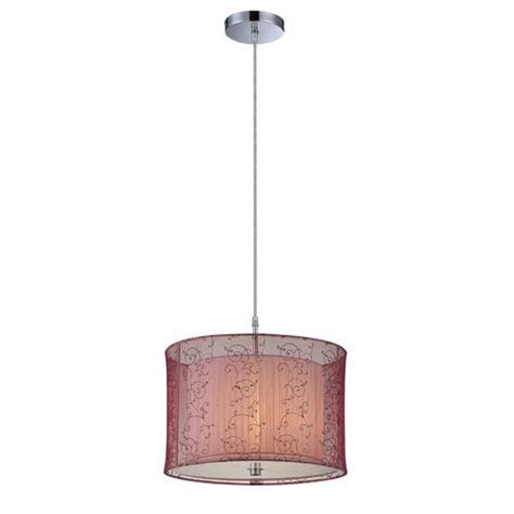ls plus drum chandelier contemporary chrome drum pendant bellacor