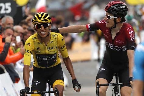 Egan bernal confirmó su recuperación, con tercer puesto en la strade bianche. At 22, Egan Bernal all but secures Colombia's 1st Tour win - The Washington Post