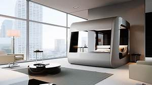 Lit Du Futur : hican la cama de lujo del futuro que muchos ya quisi ramos tener ~ Melissatoandfro.com Idées de Décoration