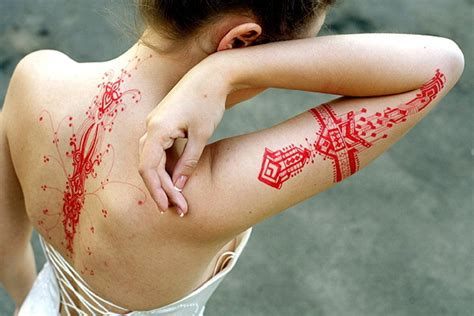 cool tattoo ideas red ink tattoocom
