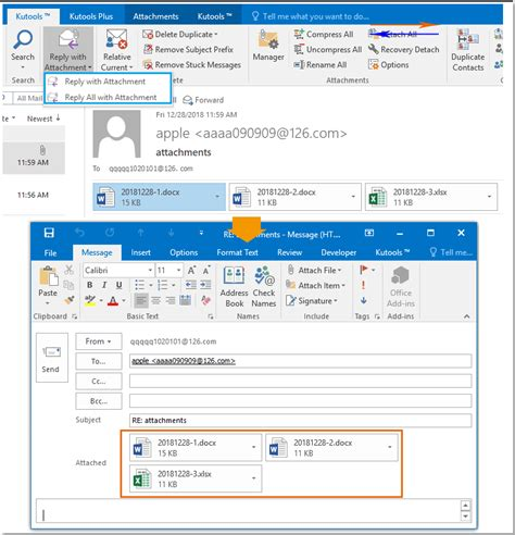How to insert attachments in the body of email message in ...