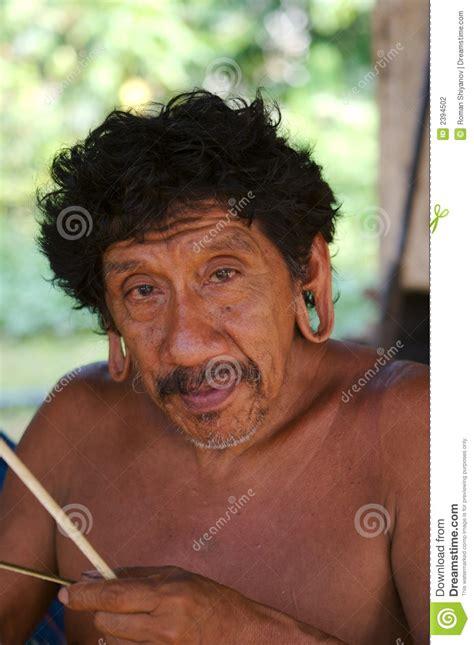 amazon indian portrait stock photography image