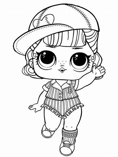 Lol Coloring Pages Dolls Printable Doll Colorong