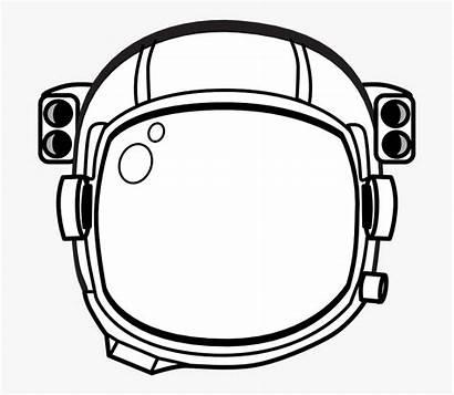 Astronaut Helmet Hat Transparent Printable Cartoon Netclipart