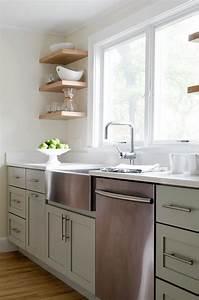 sage green kitchen cabinets design ideas With kitchen cabinet trends 2018 combined with mint green wall art