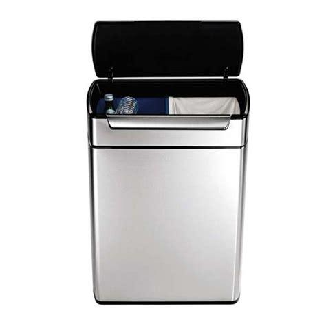 afvalbak keuken 60 liter duo afvalbak kopen mooie dubbele prullenbakken met 2 vakken