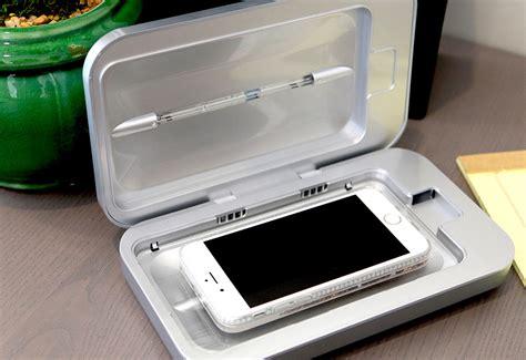 Smartphone UV Sanitizer And Charger @ Sharper Image