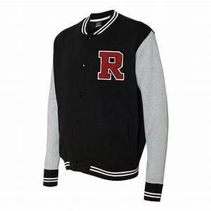 bowlingshirtcom varsity sweatshirt jacket with chenille With chenille letters for varsity jackets