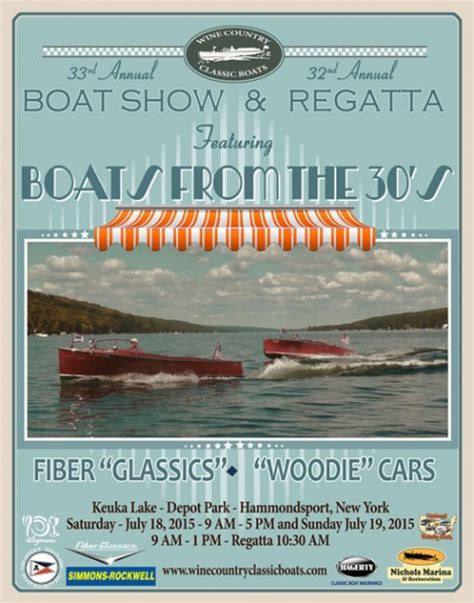 Hammondsport Ny Antique Boat Show by 33rd Annual Antique Boat Show And Regatta Hammondsport