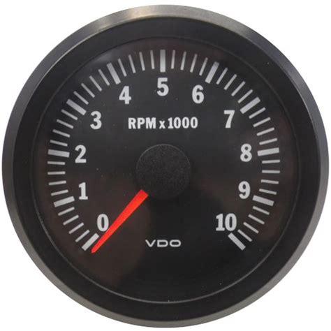 cockpit vision gauge tachometer vdo