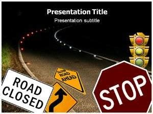 amazoncom road safety  powerpoint templates road