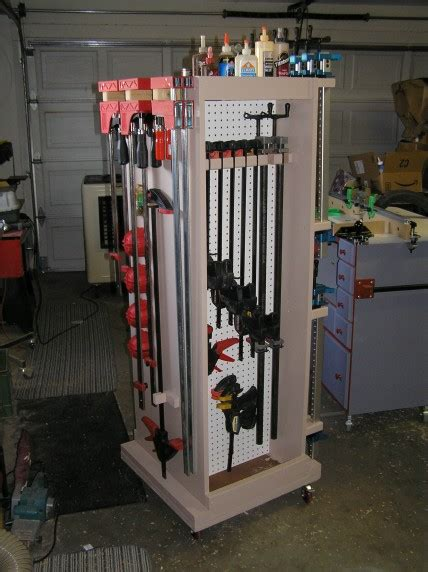 mobile clamp rack finewoodworking