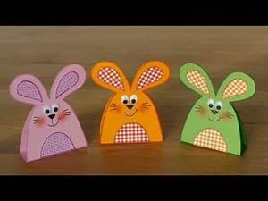 Osterkörbchen Hase Basteln : hasen rabbits aus papier basteln mit kindern ~ A.2002-acura-tl-radio.info Haus und Dekorationen