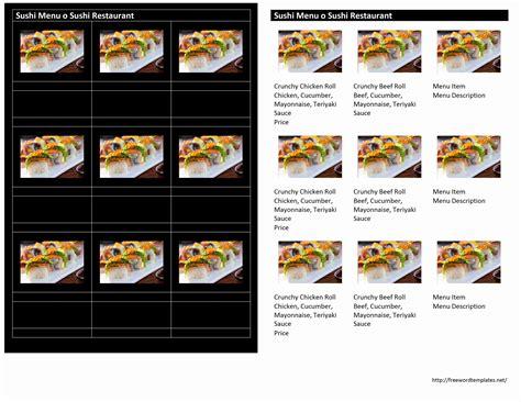 Pizza Menu Template Word by Magnificent Pizza Menu Template Sketch Professional
