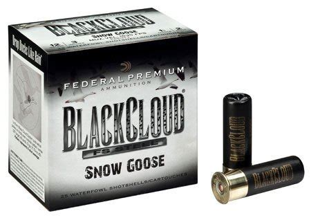 federal premium federal premium black cloud fs steel snow