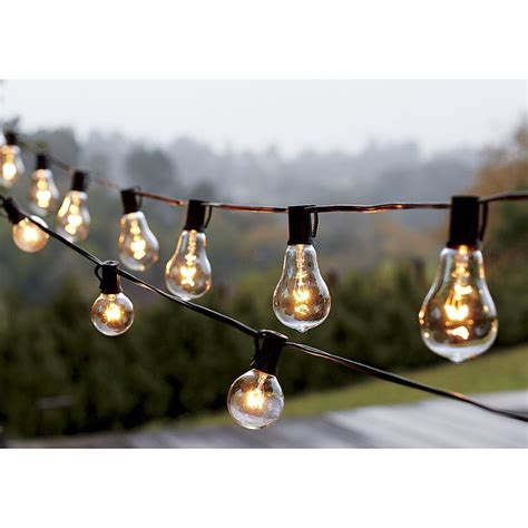 1000 ideas about string lights outdoor on