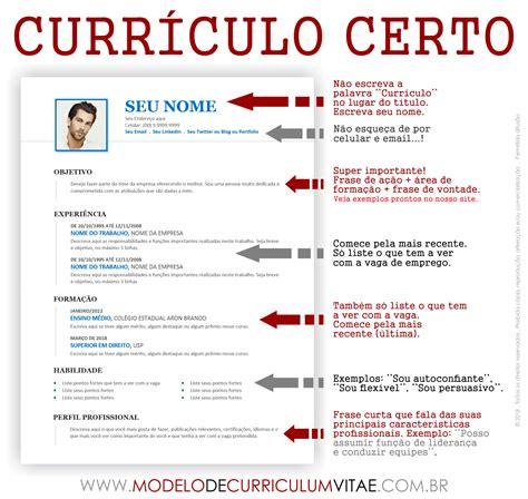 Baixar modelo de curriculo sem experiencia. Modelo de Curriculum Vitae Pronto para baixar grátis em 2021