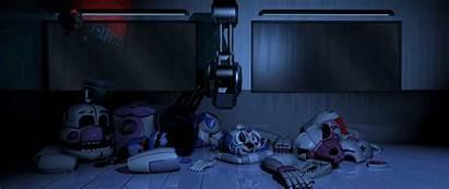 Sister Location Fnaf Scooping Freddy Nights Five