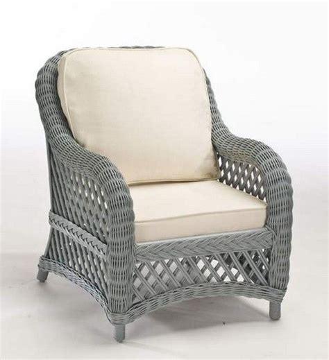 fauteuil rotin victoria gris