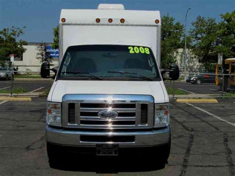 ford econoline  van box trucks