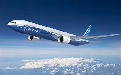 777 Airplane Boeing Plane Passenger 300er Sky