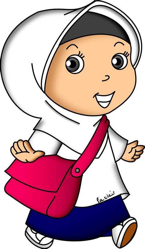flower hijab    doodle muslimah