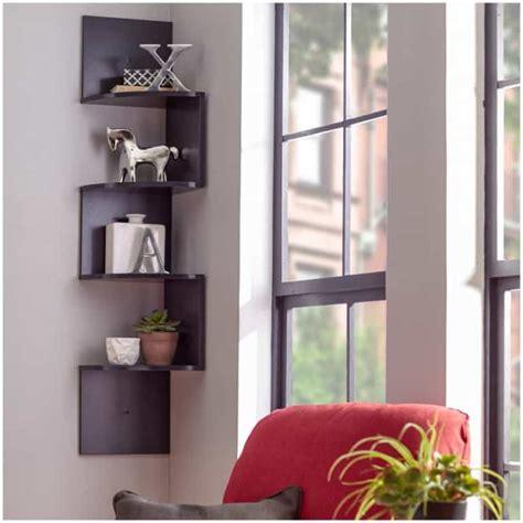 Ideas For Living Room Shelves by 17 Clever Corner Shelving Ideas