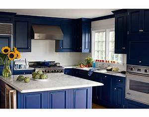 favorite navy blue paint color With kitchen colors with white cabinets with royal blue wall art