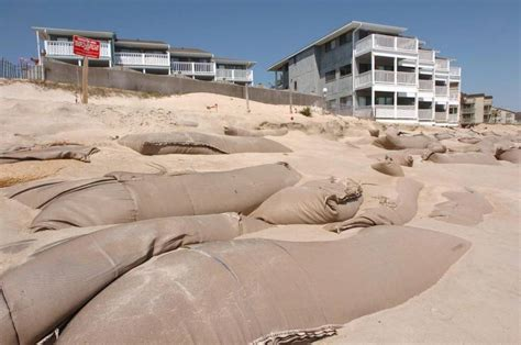 north carolina okays sandbags  beaches jlc