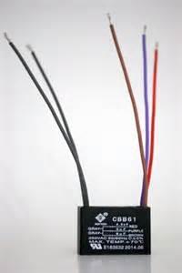 ceiling fan capacitor cbb61 4 5uf 5uf 6uf 5wire ebay
