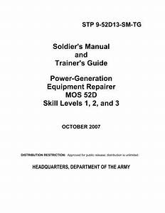 Soldier U0026 39 S Manual And Trainer U0026 39 S Guide Power