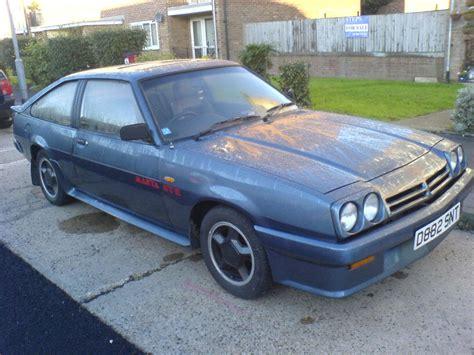 Opel Manta Gte Exclusive D Reg 1987