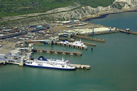 Dover Ferry Terminal in Dover, Kent, GB, United Kingdom ...