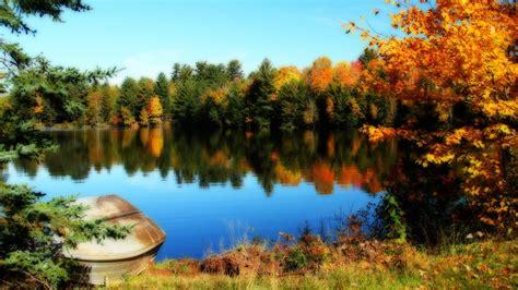 See Und Bäume Des Schönen Herbst 2560x1600 Hd