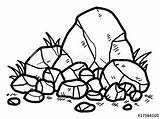 Rock Clipart Rocks Drawing Metamorphic Cartoon Background Illustration Clip Vector Drawn Sketch Hand Clipartmag Isolated Clipground sketch template